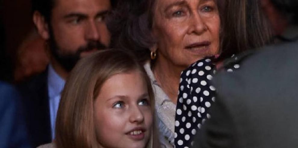 La escena entre la reina Letizia y doña Sofía se hace viral