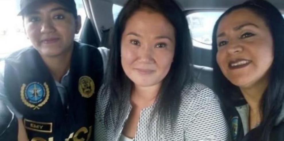 Keiko Fujimori sufre serio revés en investigación por la que sigue detenida