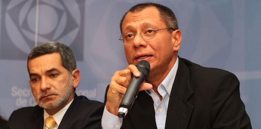 Gobierno de Ecuador envía terna para reemplazar a Glas en la Vicepresidencia
