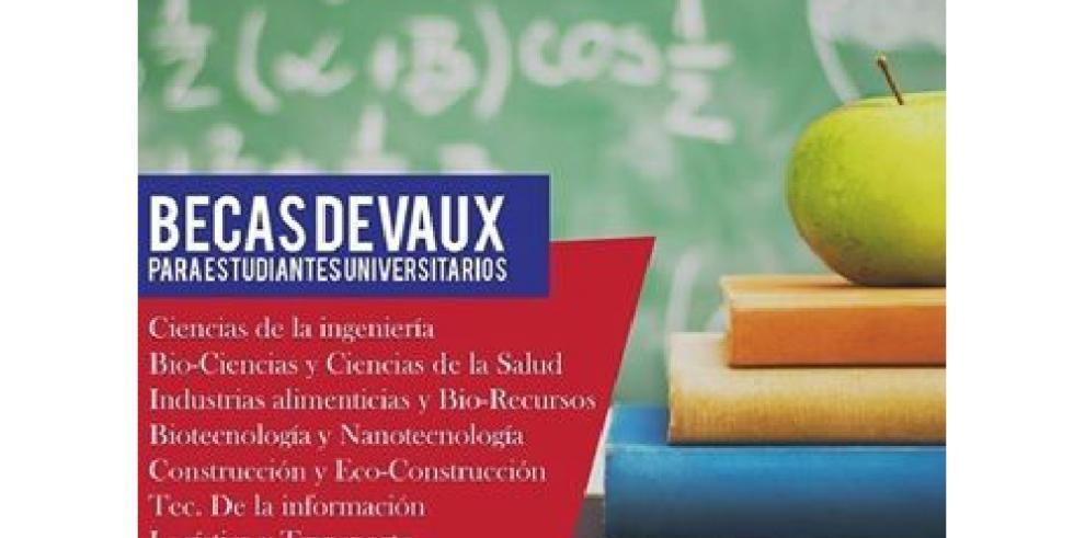 Fundación Deveaux inicia convocatoria de becas