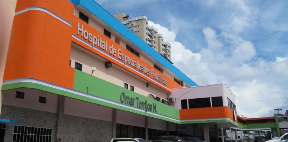 Visitas y operaciones suspendidas en la Pediátrica