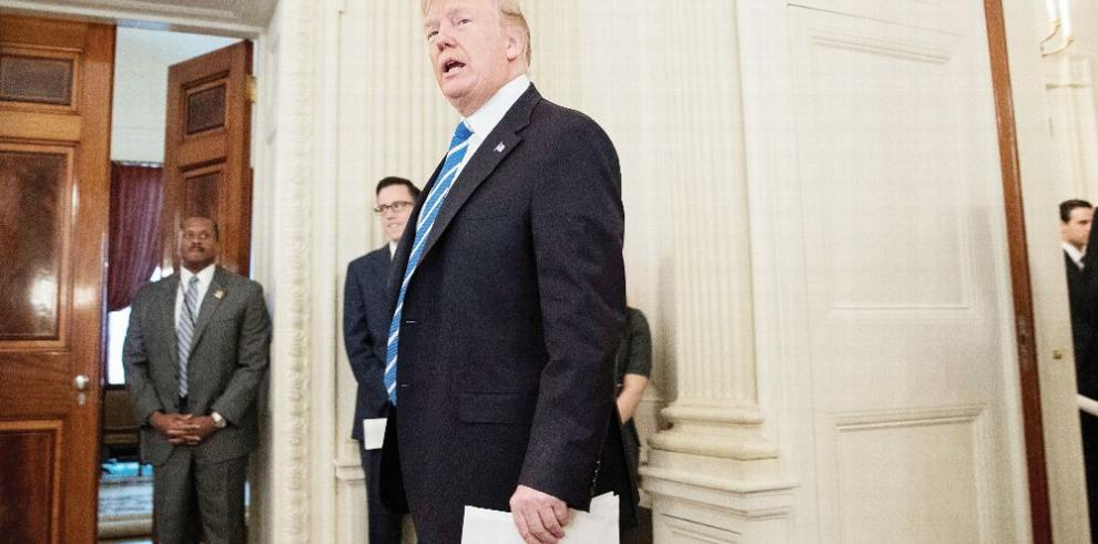 Trump presenta plan de inversión para infraestructuras