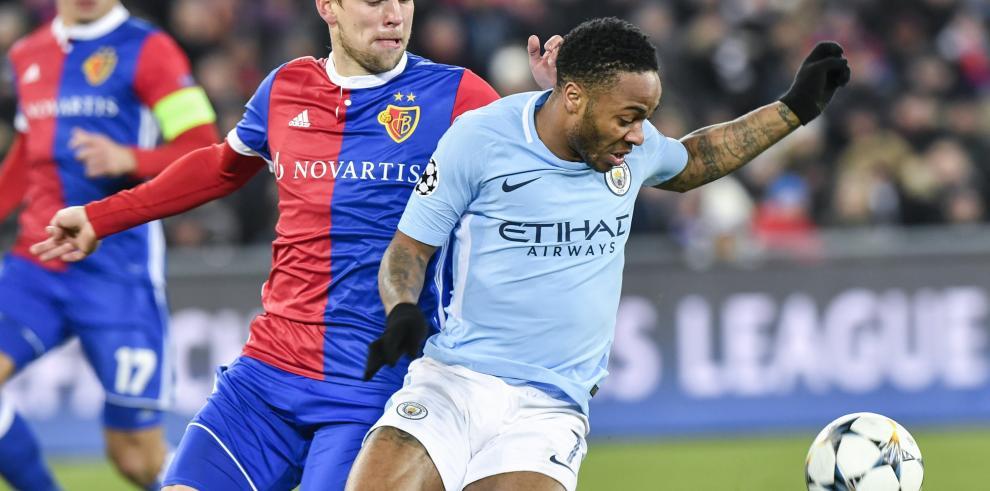 El City se pasea en Basilea y ya piensa en los cuartos de final