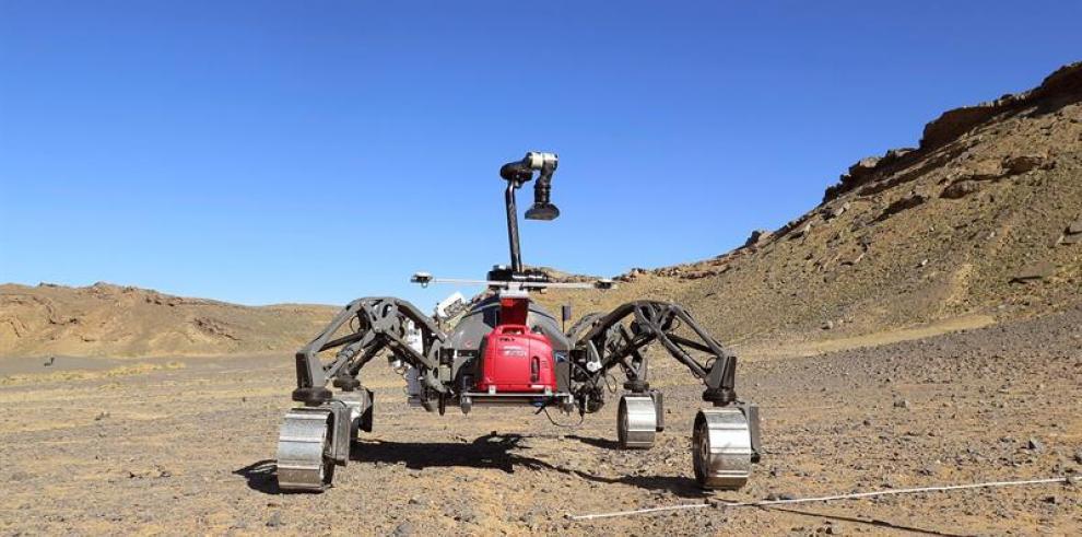 El planeta Marte empieza en los desiertos de Marruecos