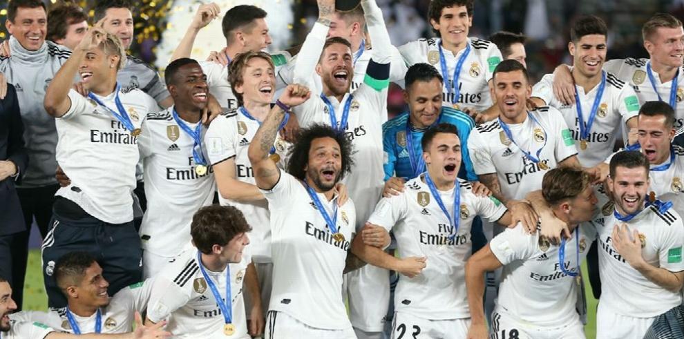 El Real Madrid a la cabeza de los ramkings de la UEFA