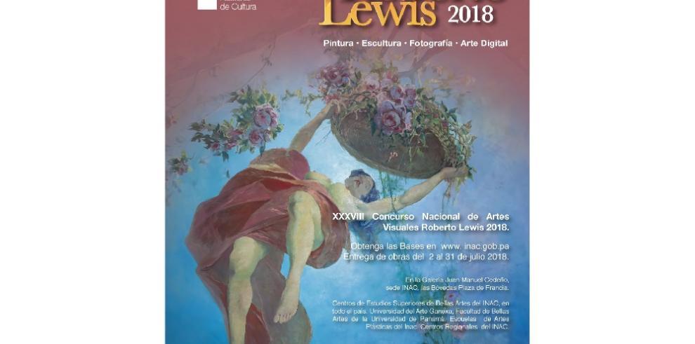 INAC abre convocatoria del Roberto Lewis 2018