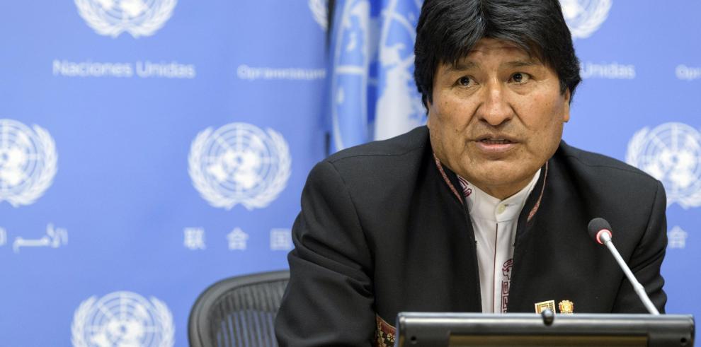 Evo Morales condena el ataque de EEUU contra Siria y habla de