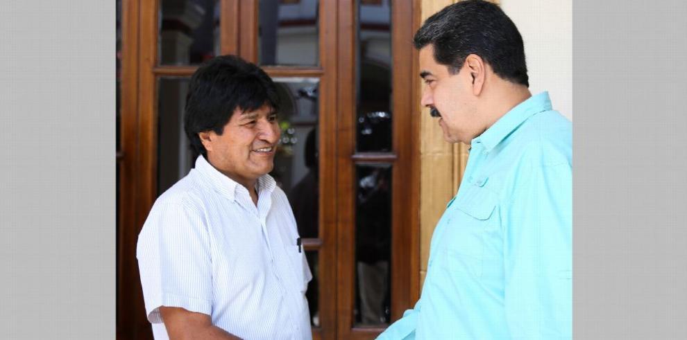 Maduro y Morales refuerzan lazos