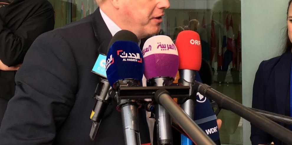 Boris Johnson asegura que el ataque a Siria fue