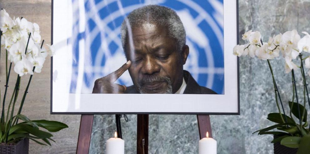 ONU rendirá tributo a Kofi Annan con actos durante esta semana