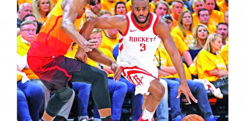 Rockets recibirán a Spurs sin presencia de Chris Paul