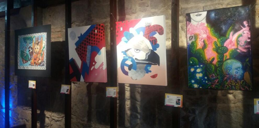 Estudiantes de bellas artes exponen por primera vez sus obras en el Macro Fest