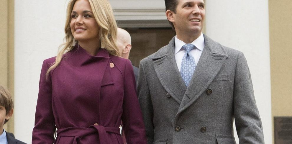 Esposa de Donald Trump Jr solicita el divorcio