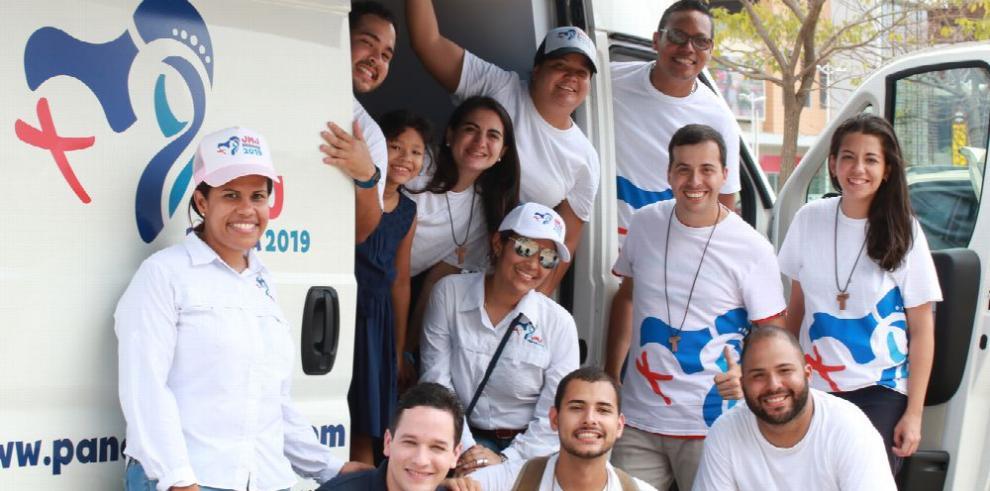 Funciones de los voluntarios en la Jornada Mundial