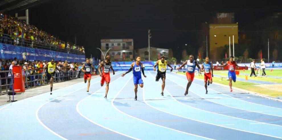 Plata y récord para Edward en los XXIII JCC, Barranquilla