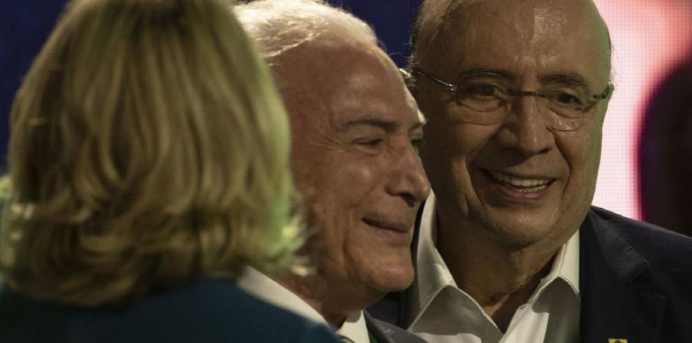 Partido de Temer confirma candidato a la presidencia