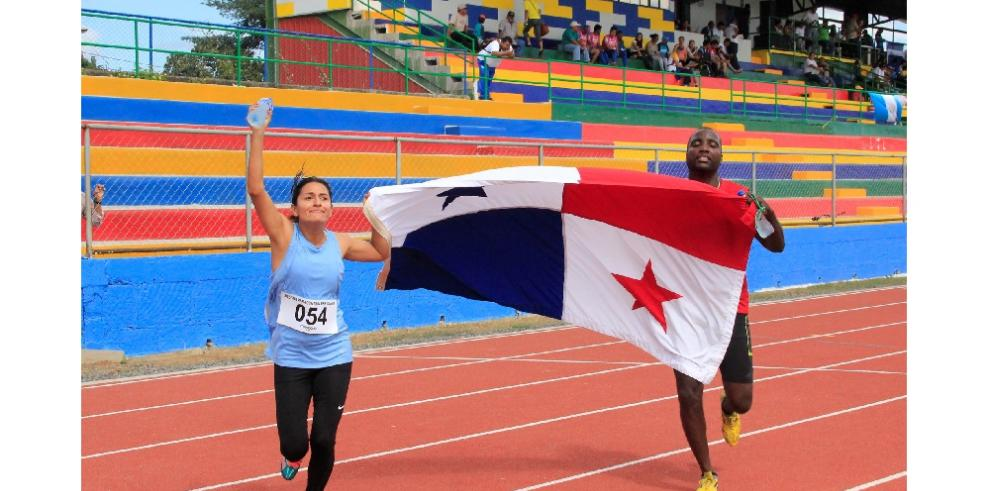 Panamá gana 8 oros en jornada de atletismo en II Juegos Paracentroamericanos