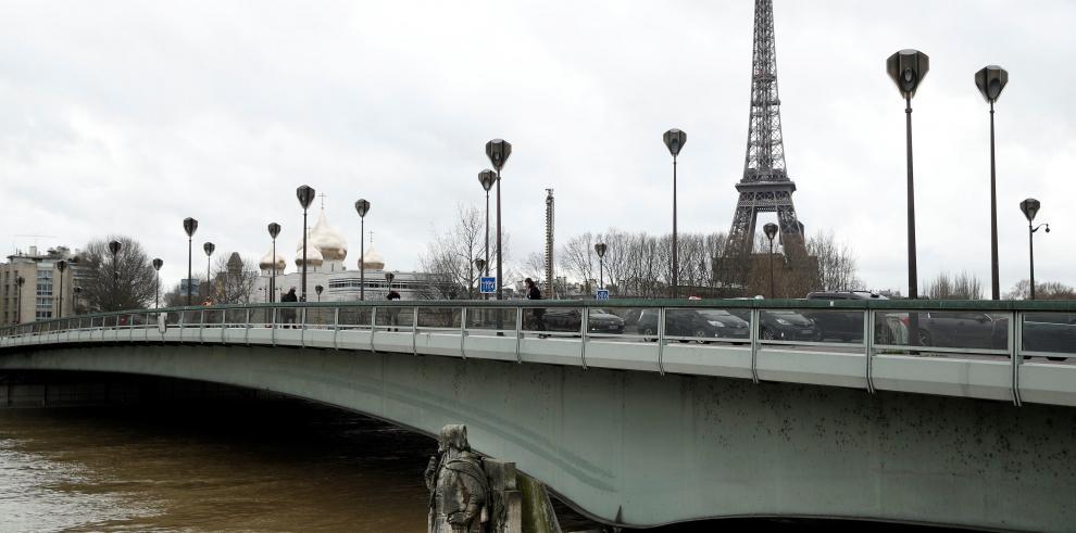 París inundado por crecida del río Sena