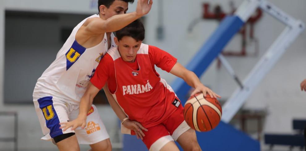 Panamá inicia su participación en el Centrobasket U15
