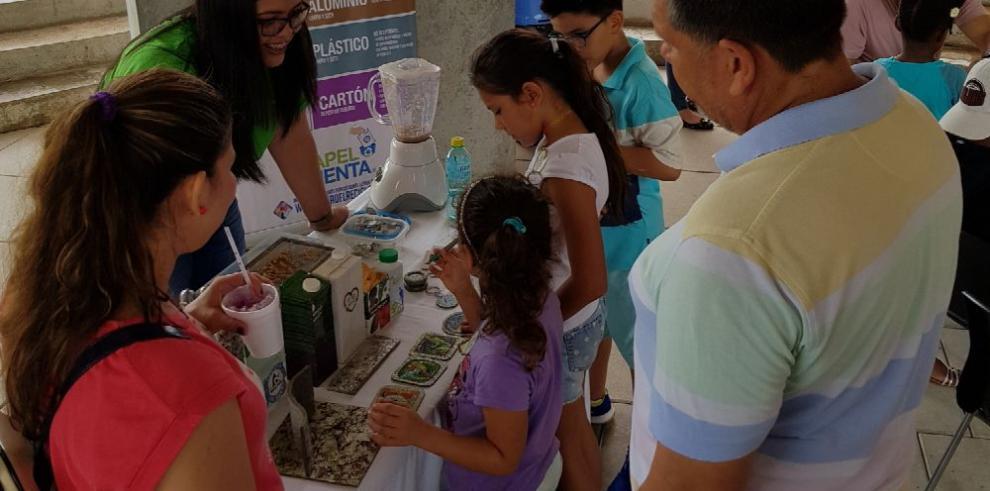 Diez años impulsando el reciclaje en Panamá