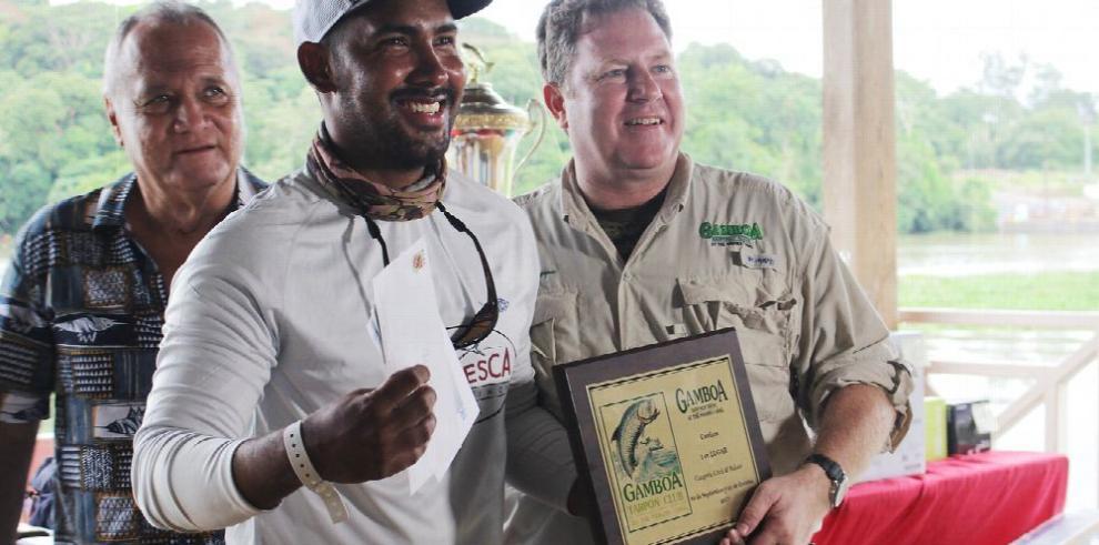 Gamboa, con los mejores pescadores