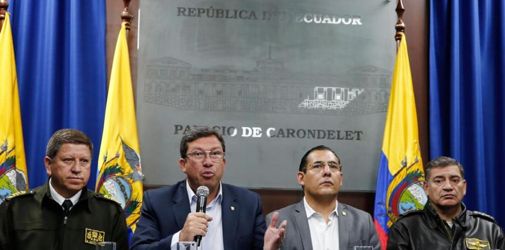Confirman secuestro de periodistas ecuatorianos