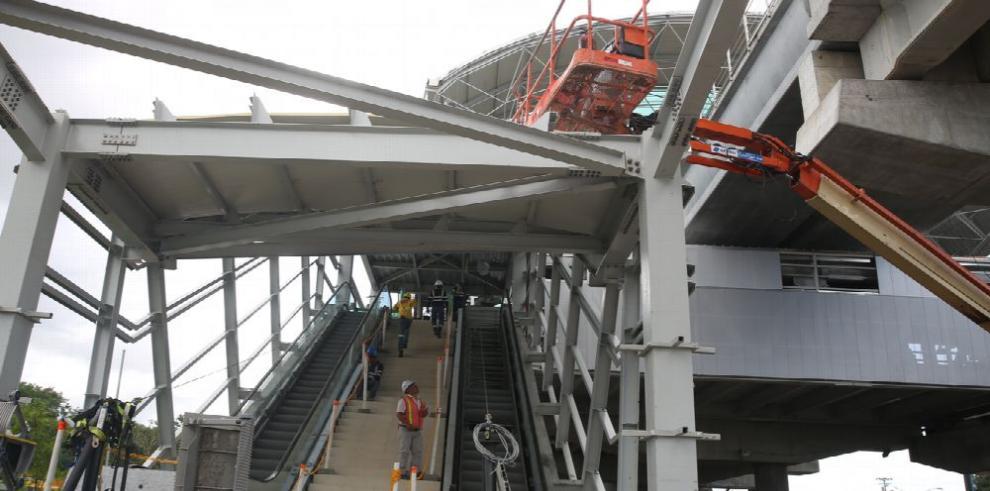 Línea 2 del Metro de Panamá alcanza un 87% de avance