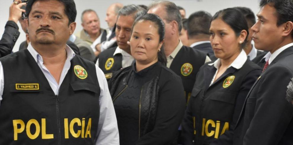 Involucran a 'Dios' en la prisión de 36 meses para Keiko