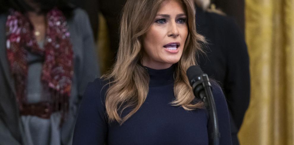 Melania Trump gastó $95.000 durante unas horas en un hotel de El Cairo
