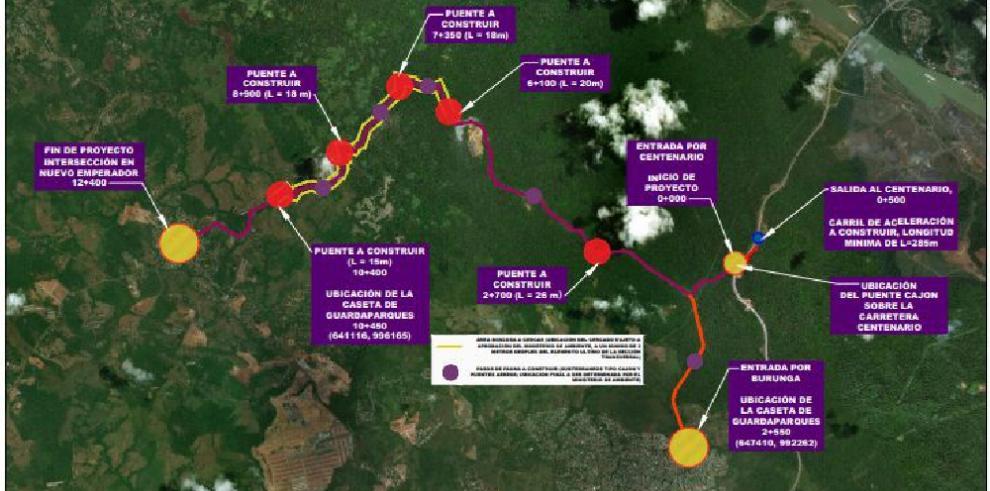 MOP prepara licitación para rehabilitar la vía Centenario y Nuevo Emperador