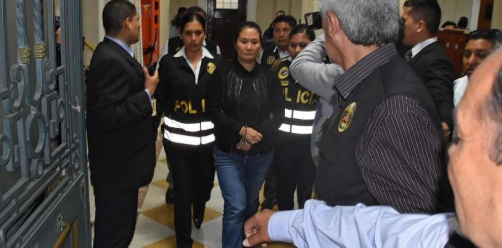 Keiko Fujimori, 'sospechosa grave' de liderar organización