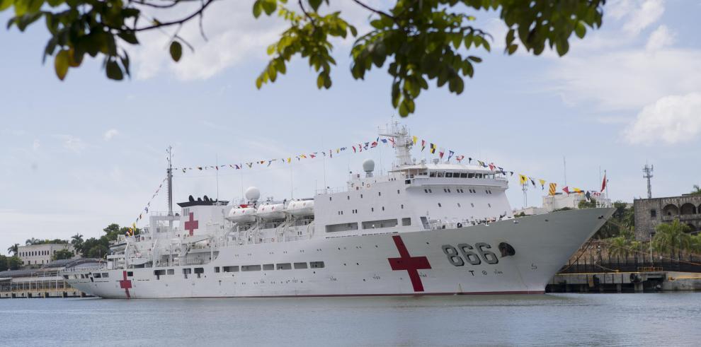 Hospital flotante chino ha brindado asistencia a más de 2.000 dominicanos
