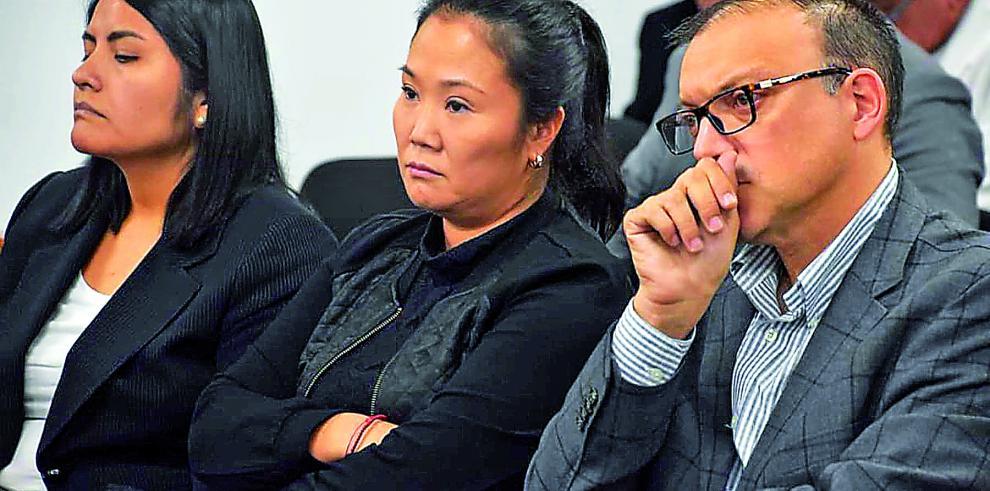Juez peruano dicta 36 meses de prisión para presunto asesor de Keiko Fujimori