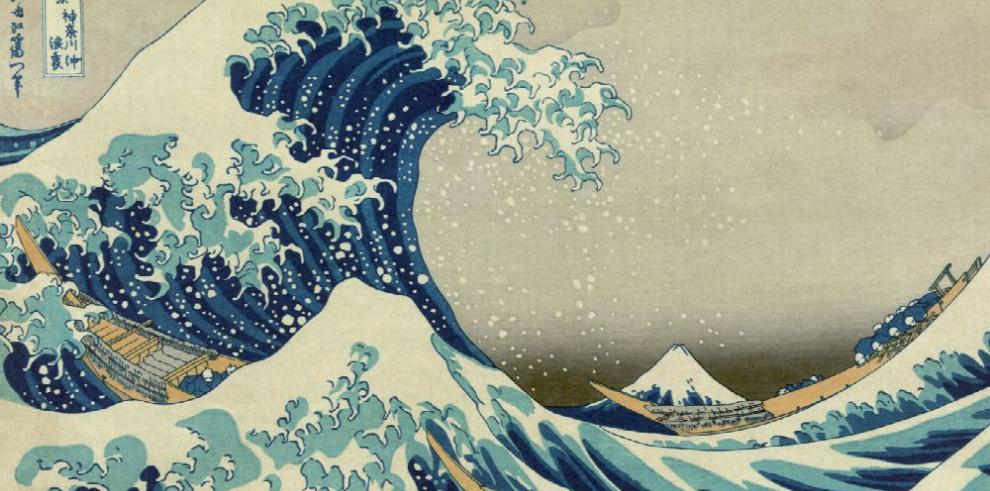 El maestro Hokusai