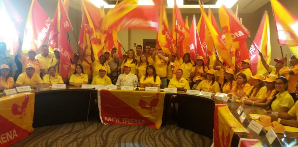 Molirena define sus candidatos y se enfoca en concretar una alianza para el 2019