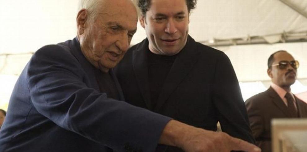 Dudamel y Gehry se alían para dar un hogar a Orquesta Juvenil de Los Ángeles