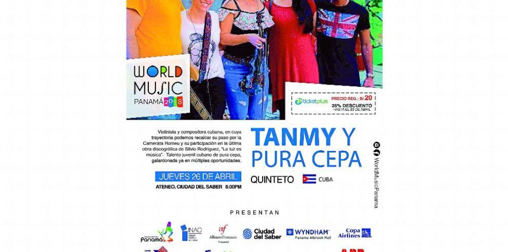 Ritmos cubanos en World Music Panamá