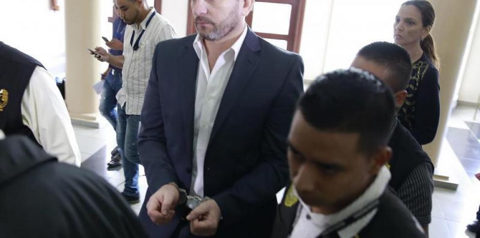 Ferrufino enfrenta este lunes audiencia por Blanqueo de Capitales