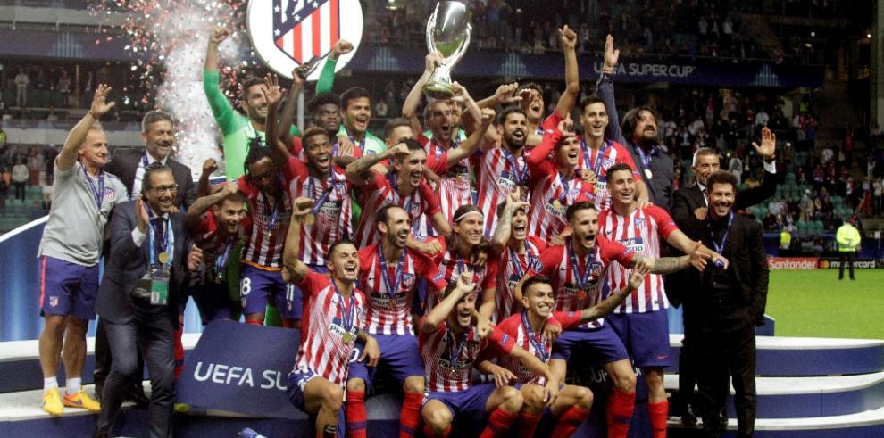 Atlético destruyó al Real Madrid
