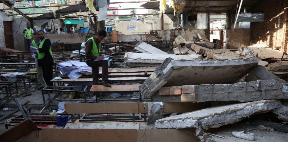 Casi 50 muertos por ataque suicida en Kabul