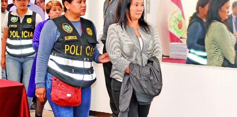 Keiko responsabiliza al Gobierno de lo que le ocurra en prisión