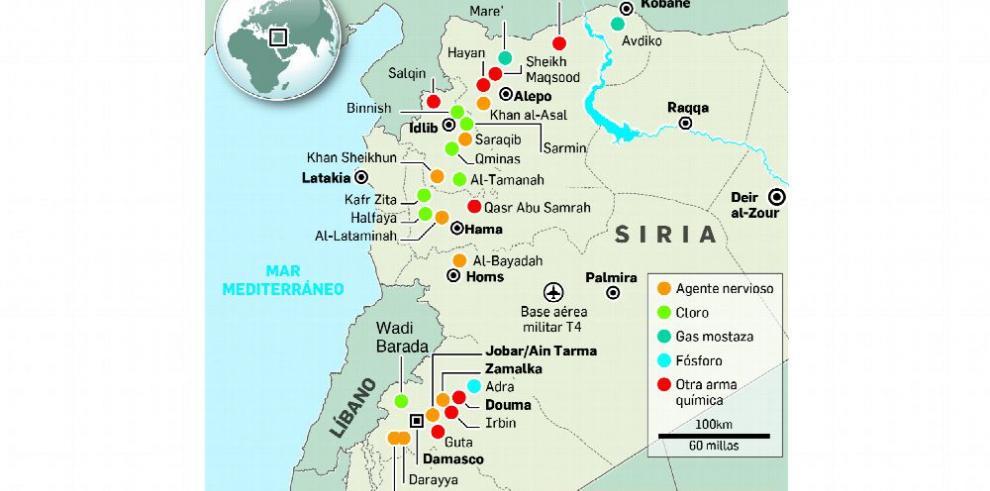EE.UU. y Rusia enfrentados por ataque químico en Siria