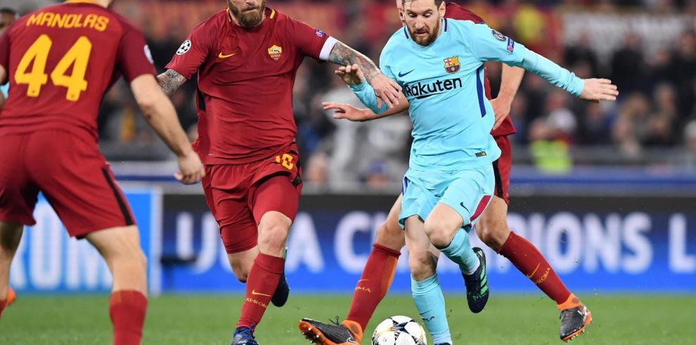 El Barcelona firma debacle histórica en Roma y se queda eliminado