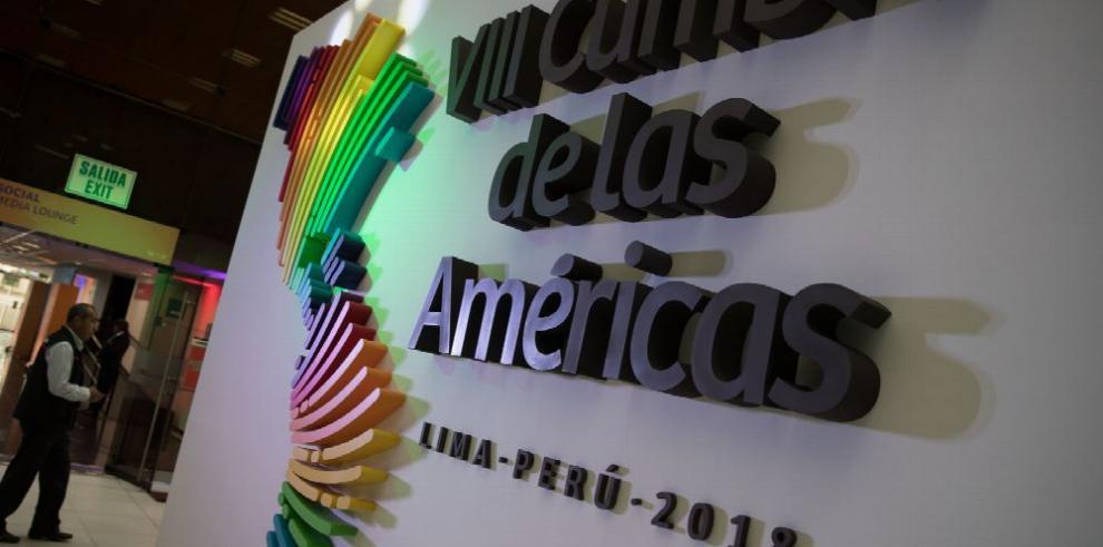 Cumbre de las Américas se inicia sin Trump y sin Maduro