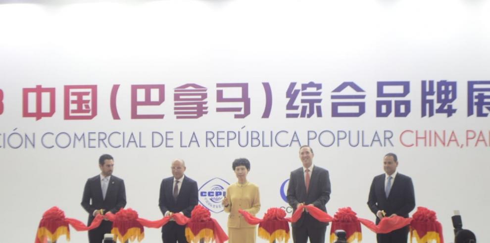 Inauguran Exposición Comercial de China en Panamá