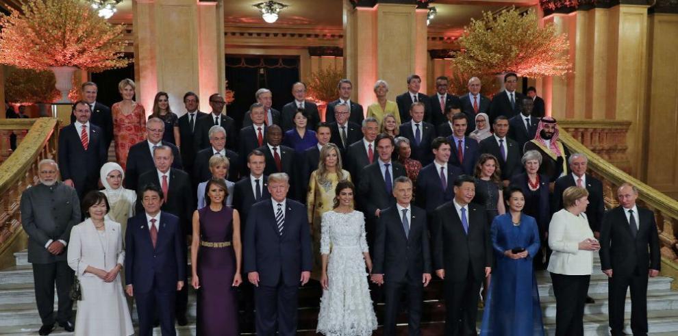 Líderes del G20 hace llamada para reformar la OMC