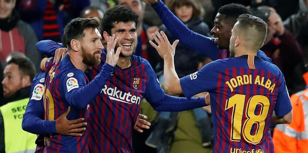 El Barcelona pone fin a una racha de once jornadas encajando goles