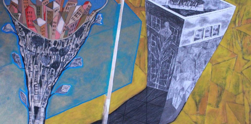 Panamá Viejo en la mirada artística de Fernando Toledo