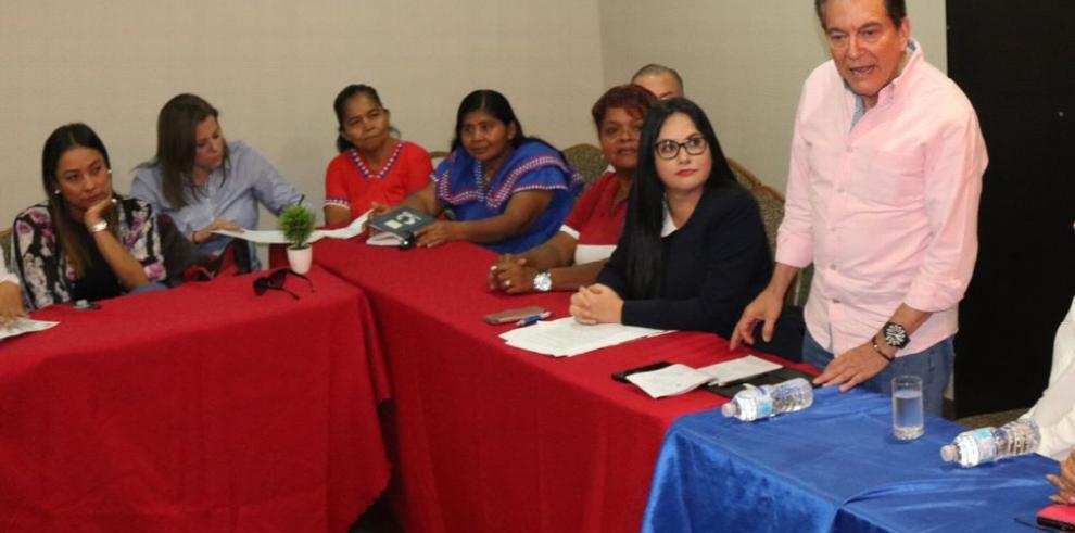 Frente Femenino del PRD proclama total respaldo a Cortizo