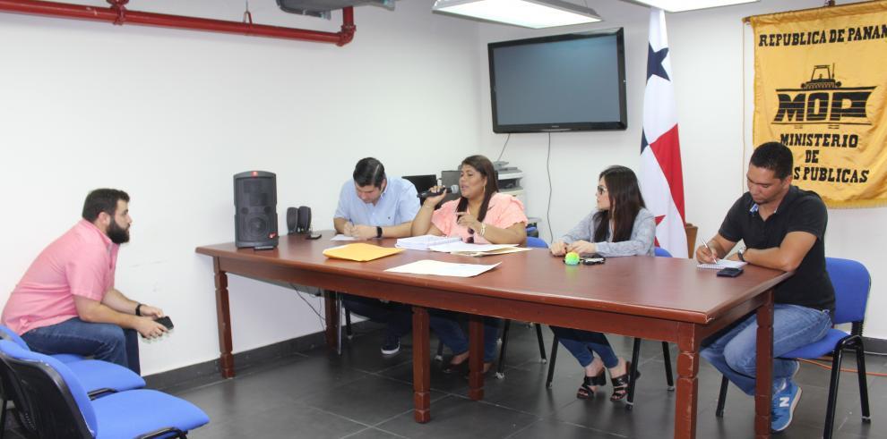 MOP realiza homologación para la rehabilitar las calles de San Miguelito